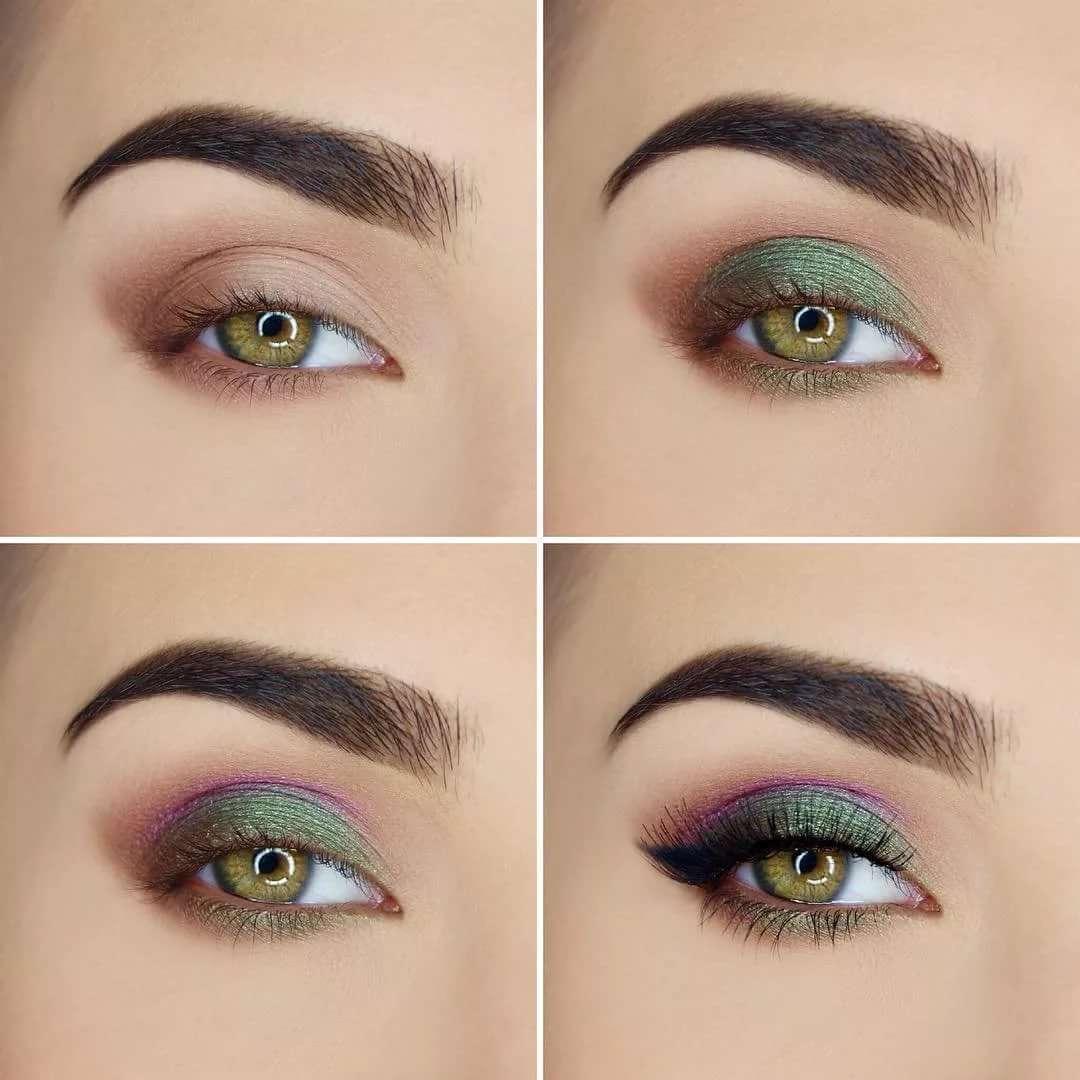 Как красить серо-зеленые глаза глаза светло зеленые Макияж